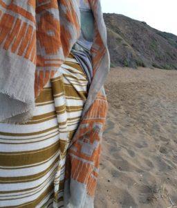 Summer 2017 LOVAT&GREEN Scarves Ref.: CASABLANCA and NAVAJO