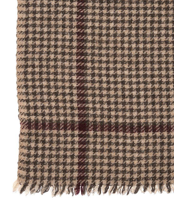 LOVAT&GREEN Pata Beige wool scarf