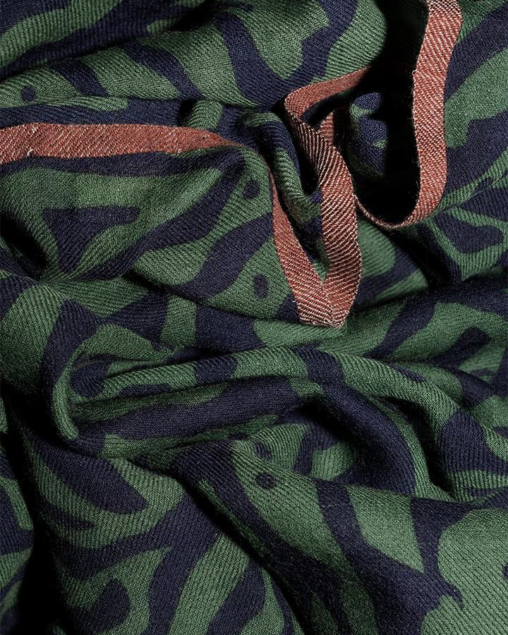 LOVAT&GREEN Sea Green wool scarf