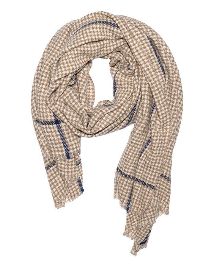 LOVAT&GREEN Pata Ecru wool scarf