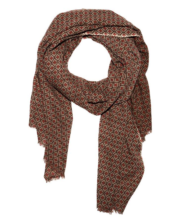LOVAT&GREEN Tie Vison wool scarf