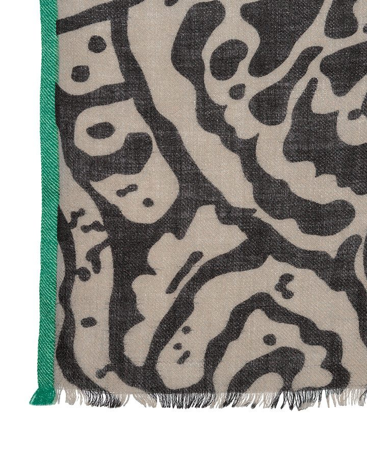LOVAT&GREEN Sea Vison wool scarf