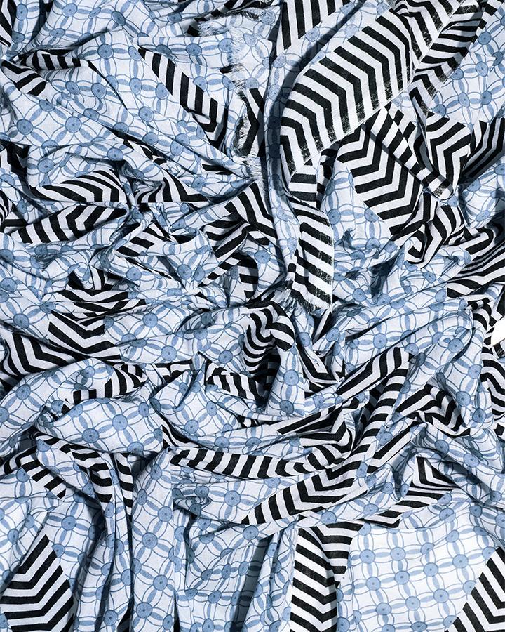 LOVAT&GREEN Arafat Sky foulard