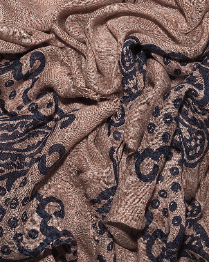 LOVAT&GREEN Harem Nude foulard