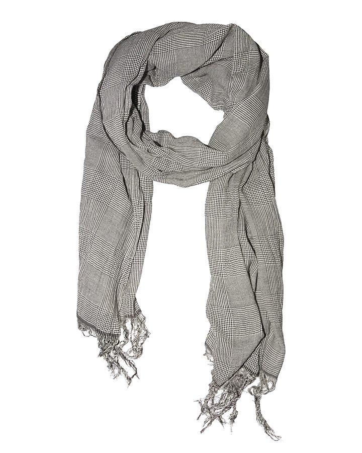 LOVAT&GREEN Gales Grey foulard