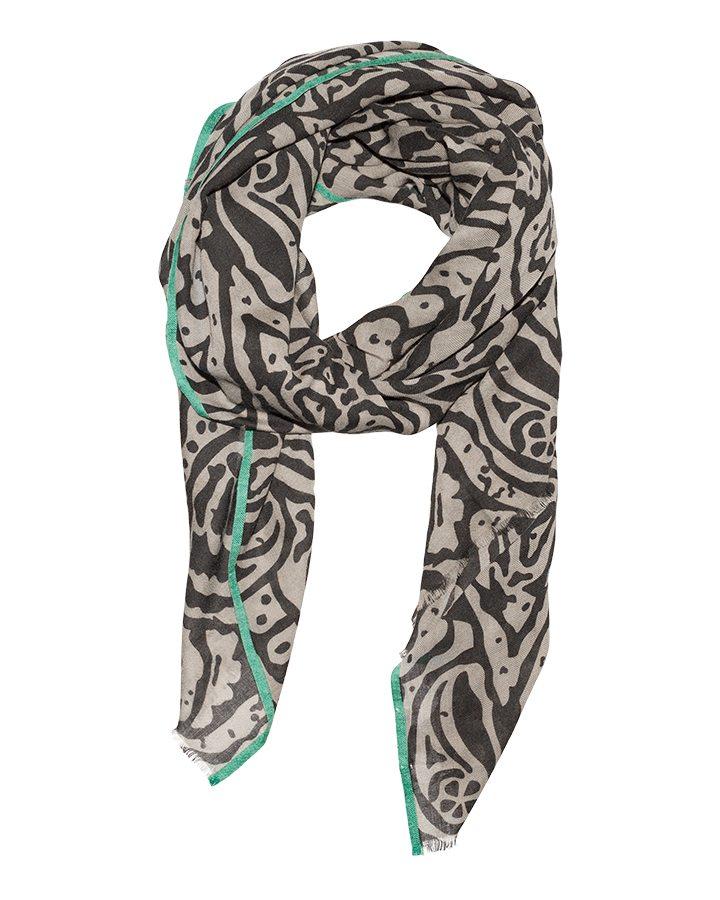 LOVAT&GREEN Sea Vison wool scarf
