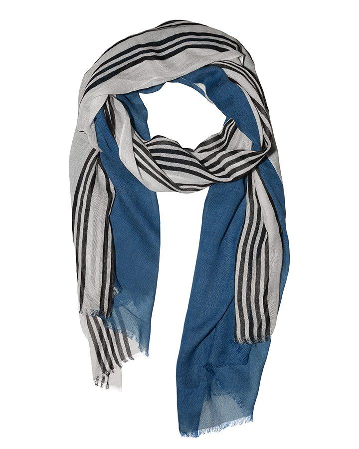 LOVAT&GREEN Biarritz Petrol foulard