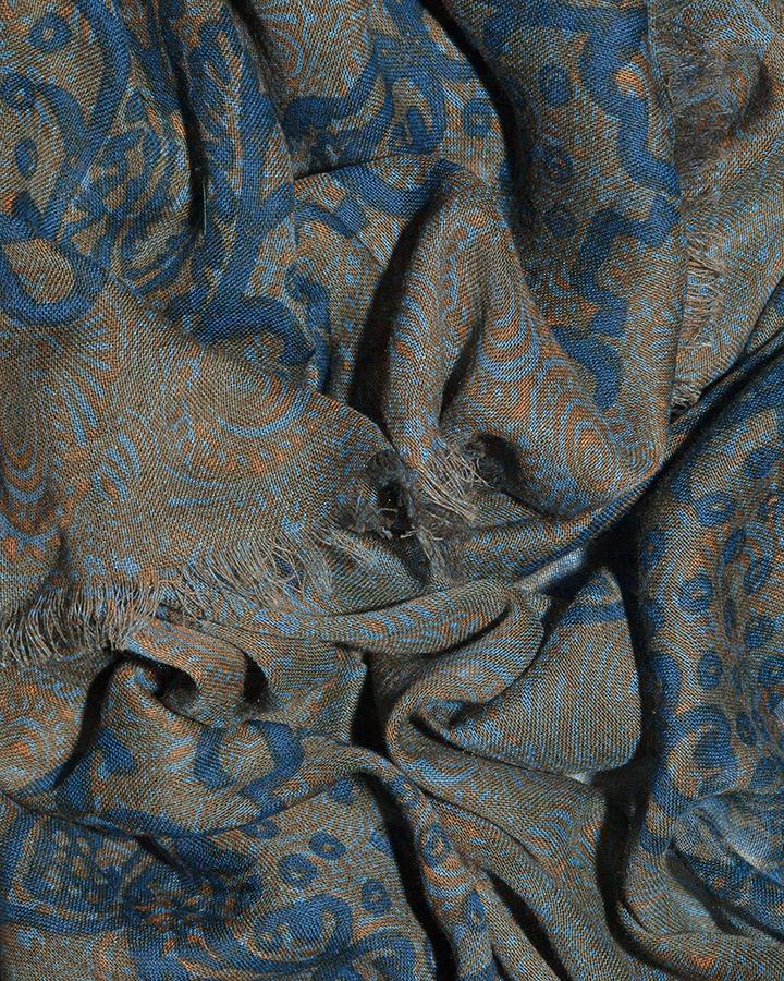 LOVAT&GREEN Harem Petrol foulard