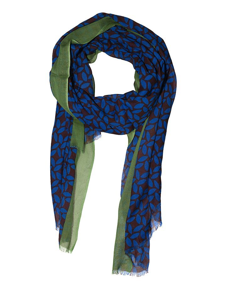LOVAT&GREEN Petal Royal Blue foulard