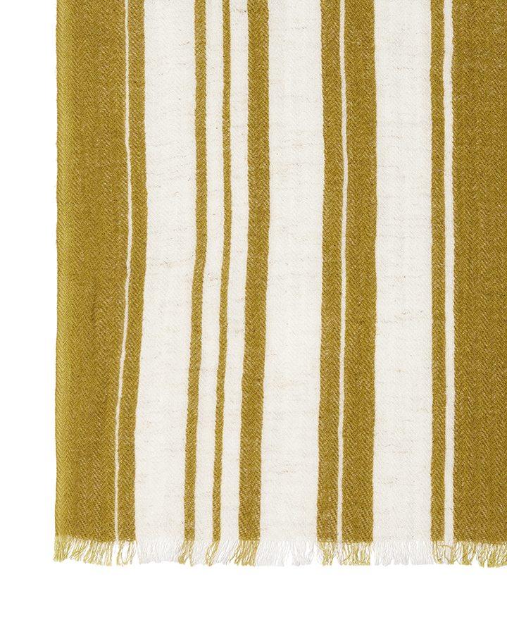 LOVAT&GREEN Casablanca Mustard foulard