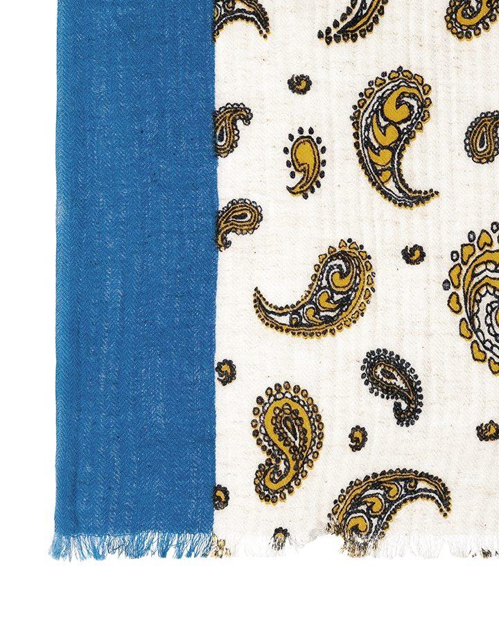 LOVAT&GREEN Butterfly Yellow foulard