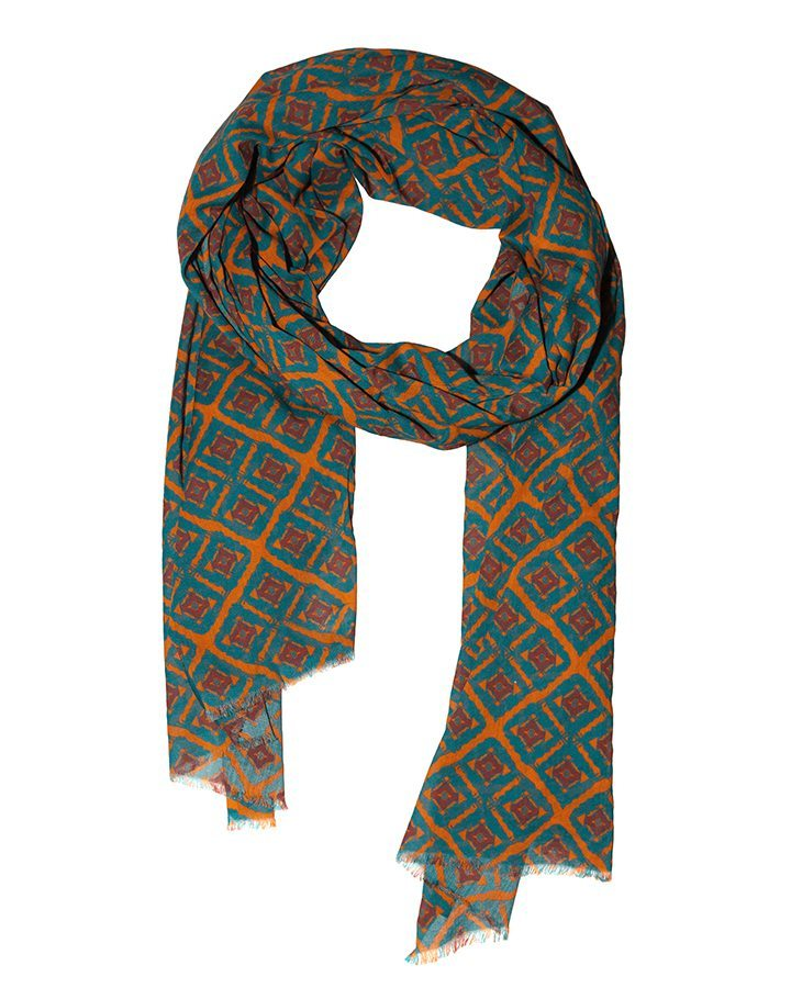 LOVAT&GREEN Ethnic Orange foulard