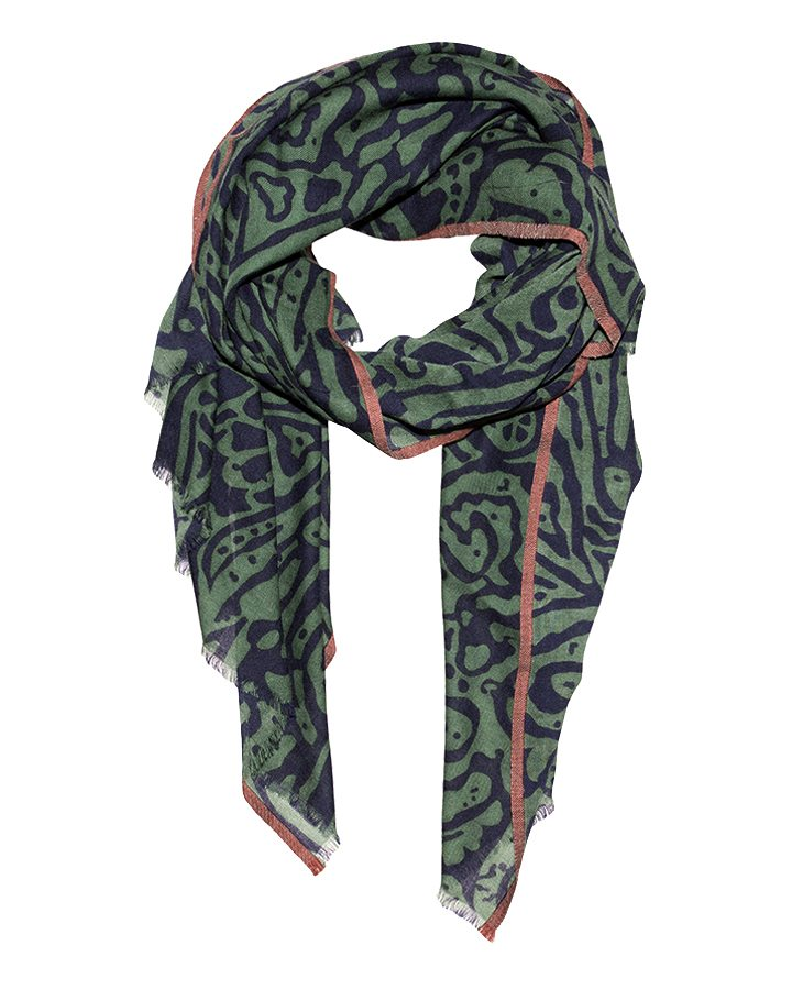 LOVAT&GREEN Sea Green wool scarf