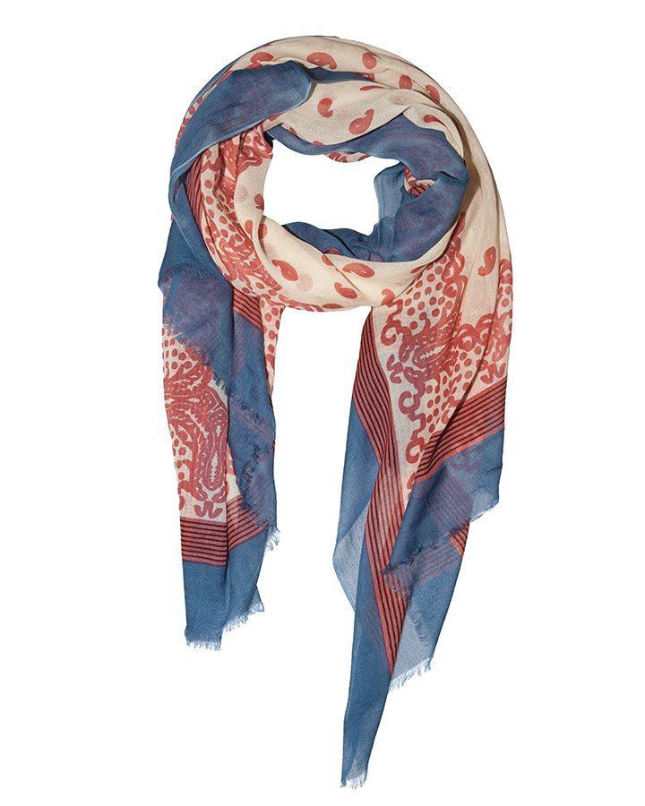 LOVAT&GREEN Naïf Pink foulard