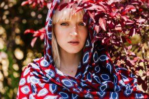 Summer 2017 LOVAT&GREEN Scarves Ref.: COCOA BURGUNDY