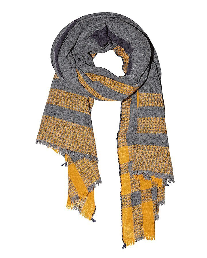 LOVAT&GREEN Blanket Grey wool scarf