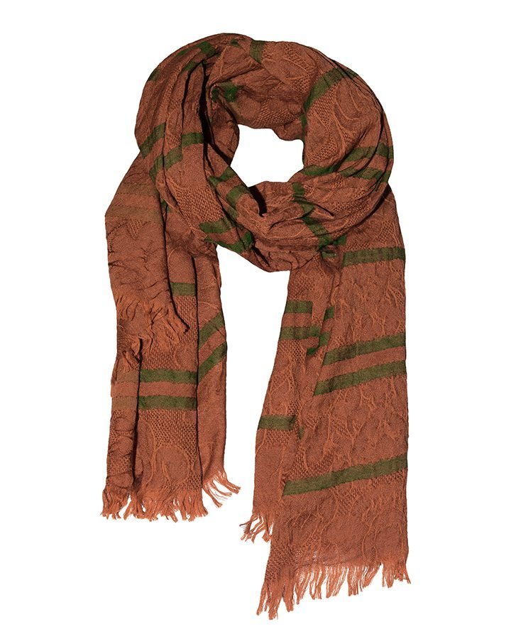 LOVAT&GREEN Vintage Orange wool scarf