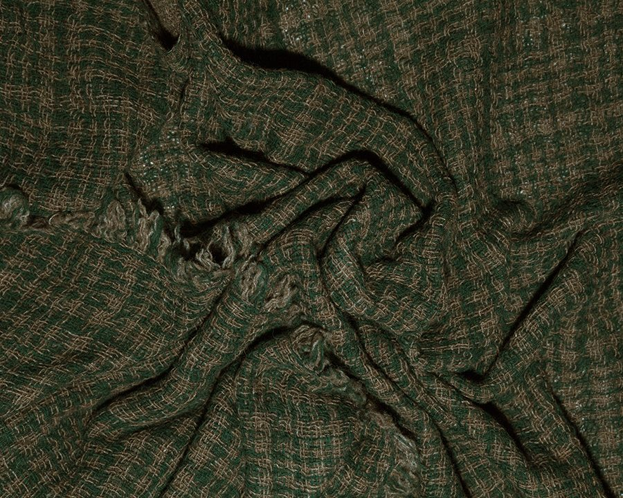 LOVAT&GREEN Gales Green wool scarf