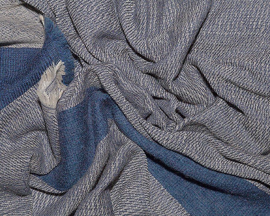 LOVAT&GREEN Mohair Ecru wool scarf
