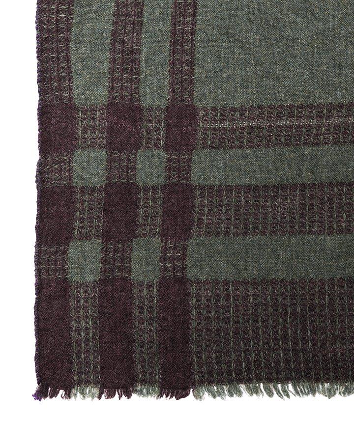 LOVAT&GREEN Blanket Green wool scarf