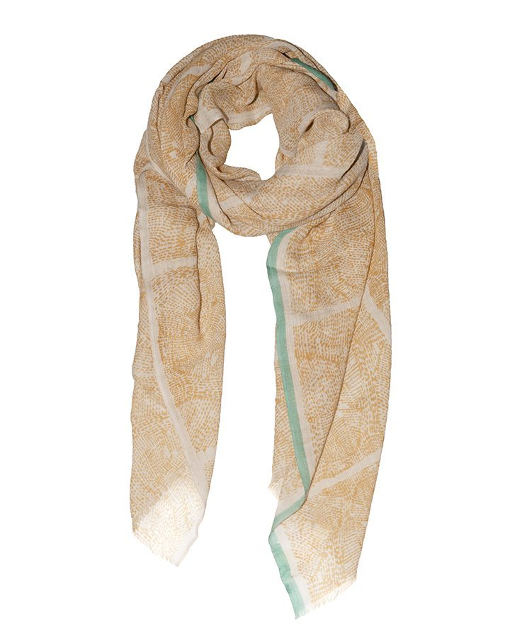 LOVAT&GREEN Naïf Natural wool scarf