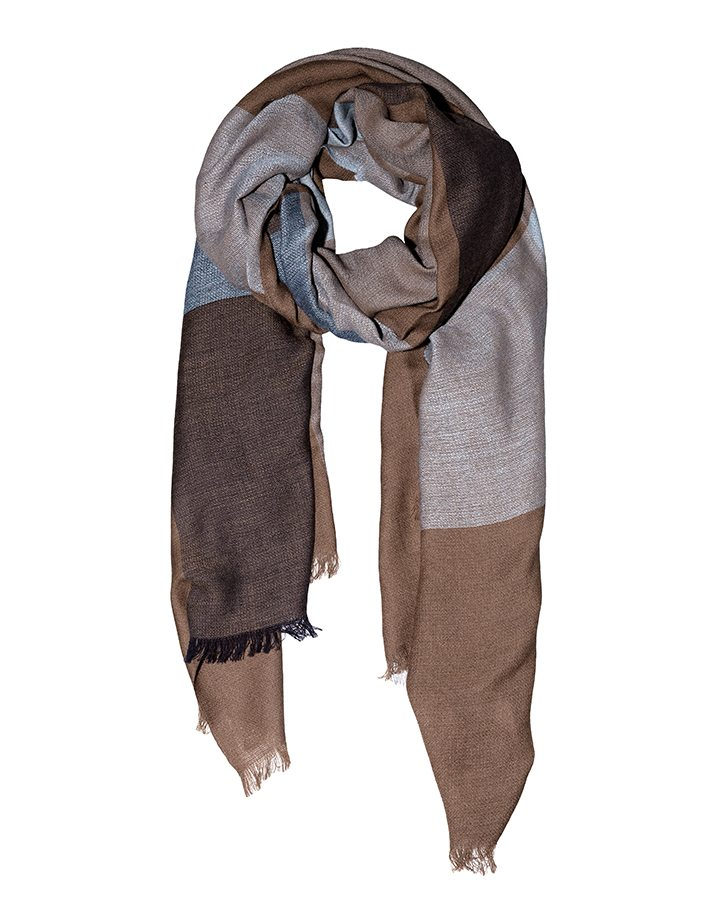 LOVAT&GREEN Square Camel wool scarf