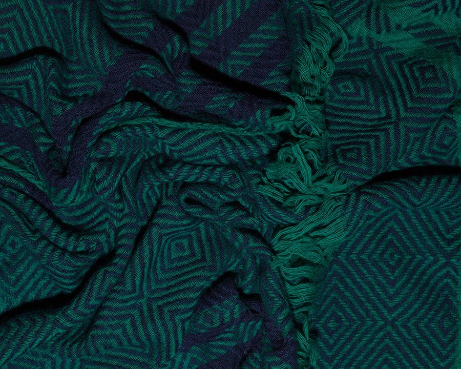 MOSAIQUE TURQUOISE - LOVAT&GREEN FW\' 1718 Scarves Collection