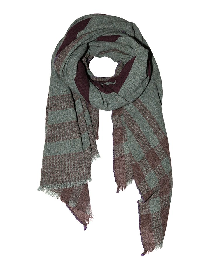 LOVAT&GREEN Blanket Green wool scarf