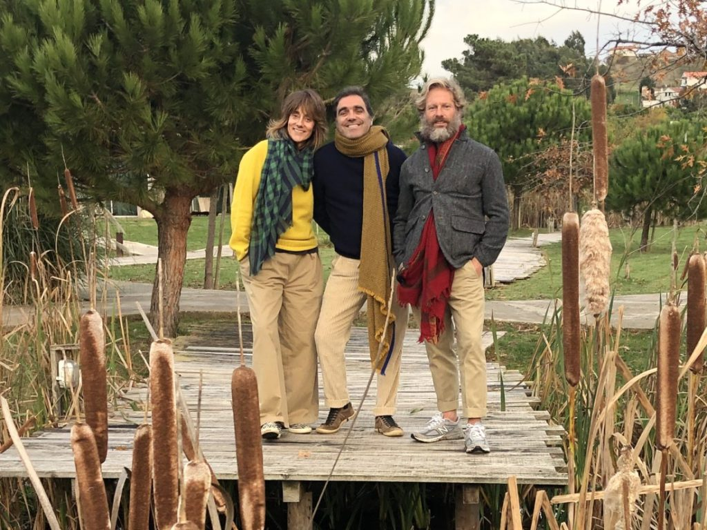 Isabel Calonge, Telmo Faria and Carlos Castillo