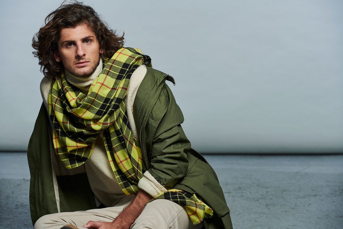 LOVAT&GREEN FW' 19_Ref.: HIGHLAND YELLOW