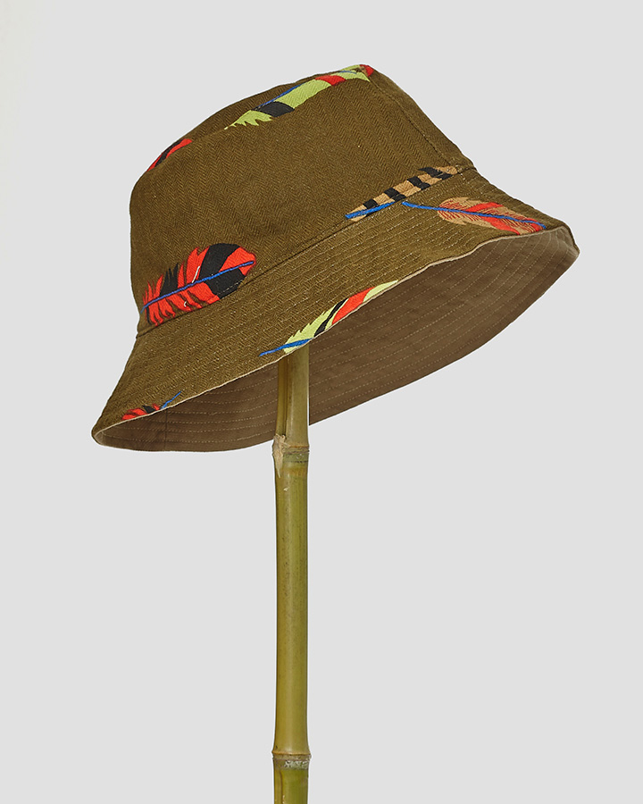 FEATHERS HAT by LOVAT&GREEN