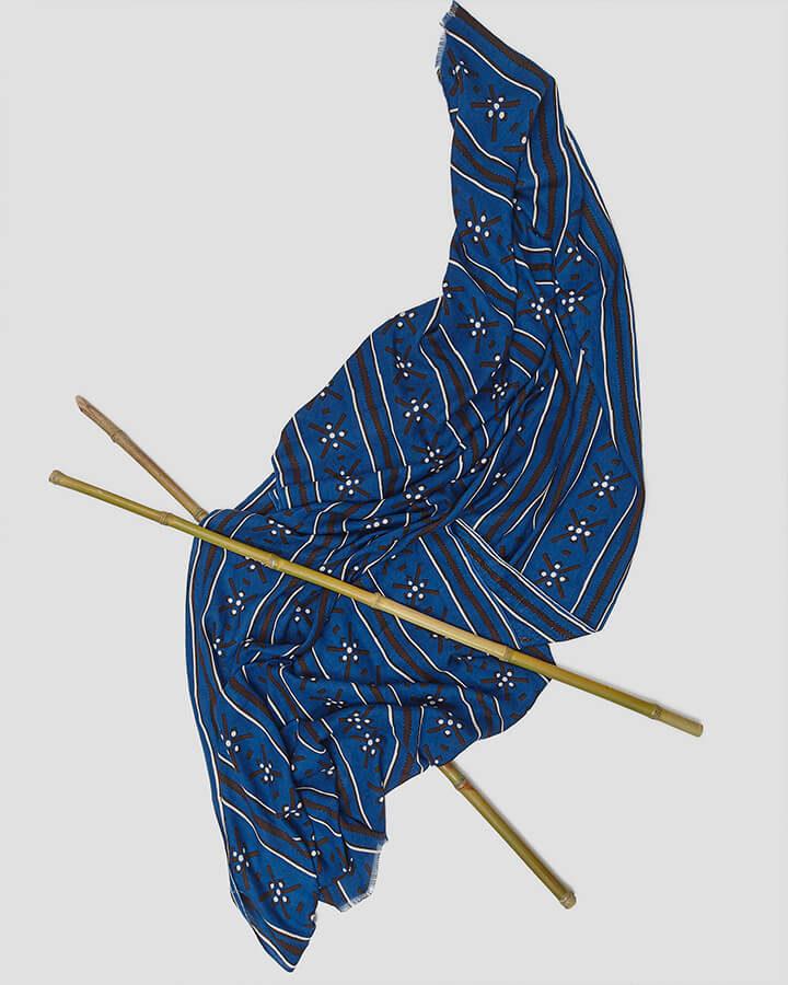 AZTECA BLUE SCARF by LOVAT&GREEN