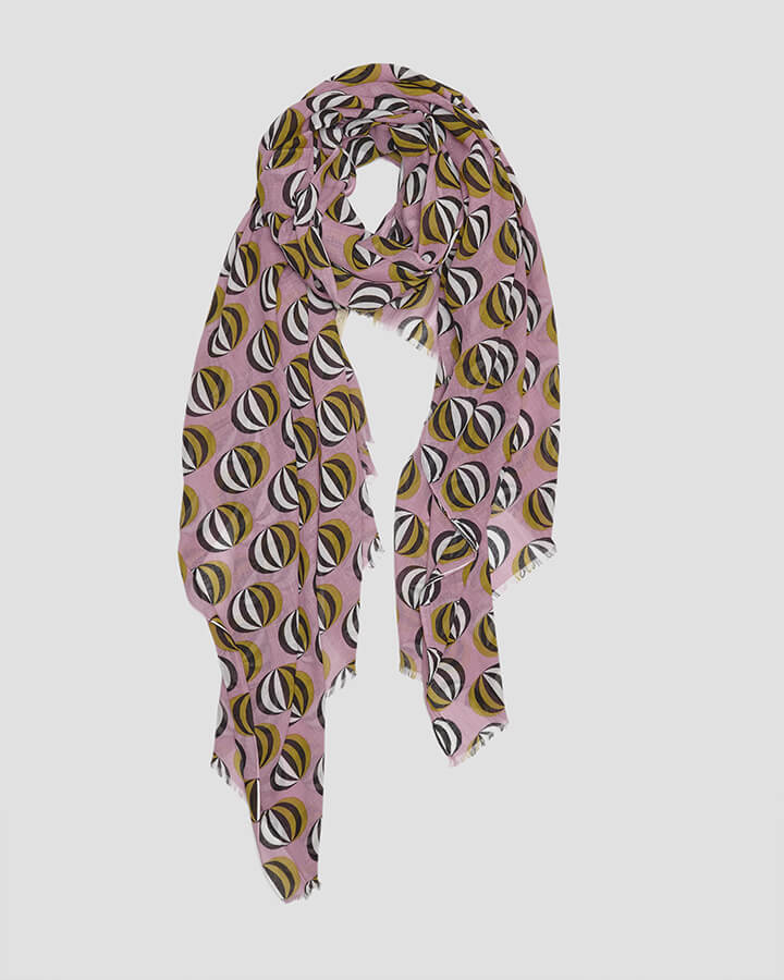 BALLOONS LILAC SCARF by LOVAT&GREEN