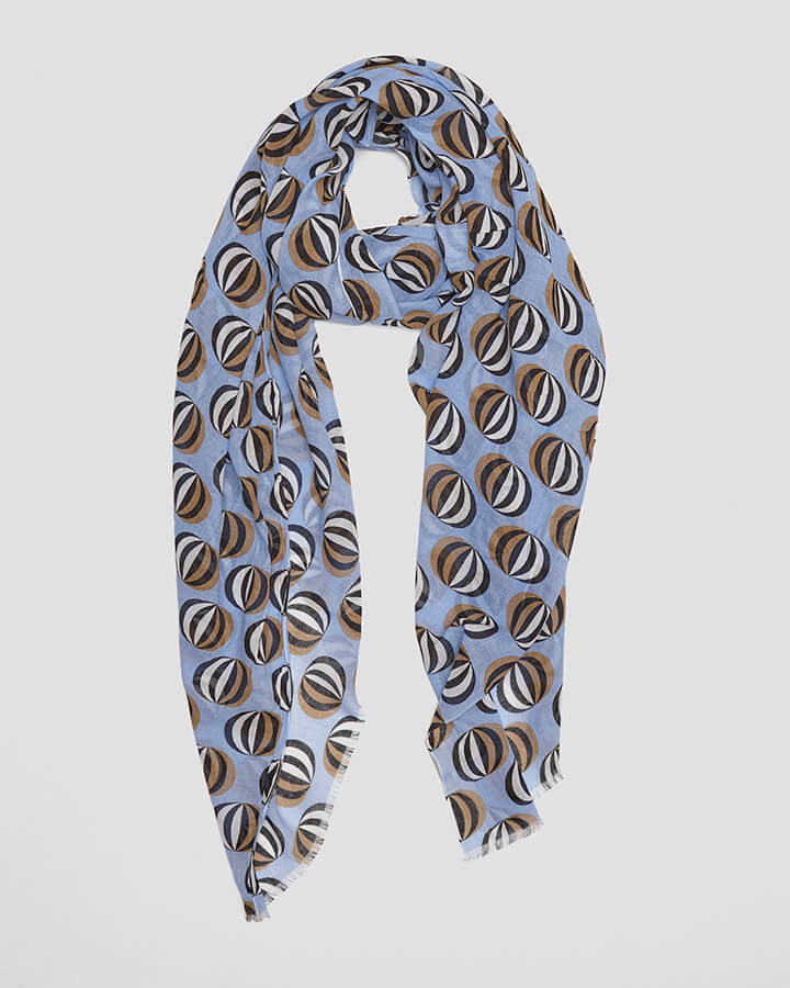 BALLOONS SKY SCARF by LOVAT&GREEN