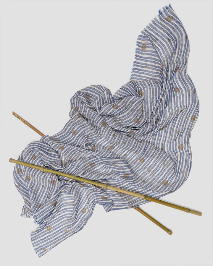 FLAKES BEIGE SCARF by LOVAT&GREEN