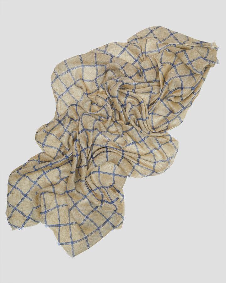 TRELLIS BEIGE SCARF by LOVAT&GREEN