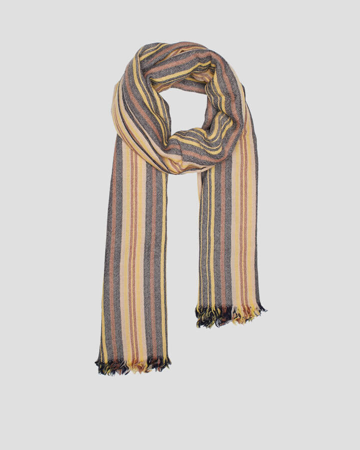 MAHON YELLOW SCARF by LOVAT&GREEN