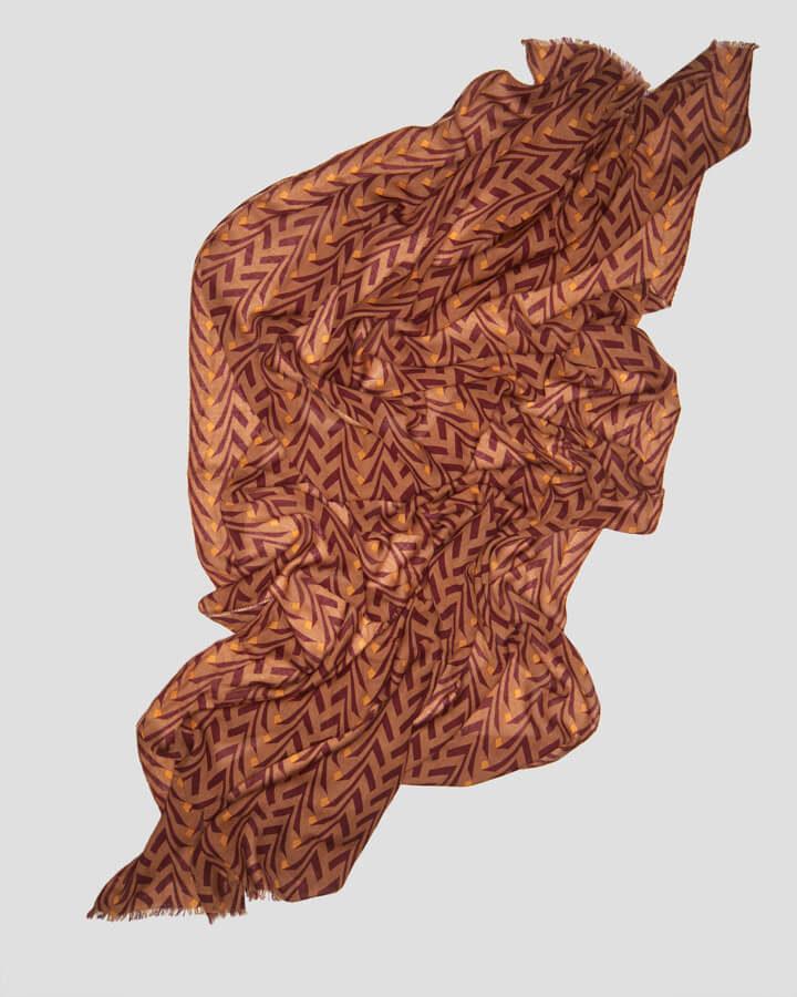SIDNEY BROWN SCARF by LOVAT&GREEN