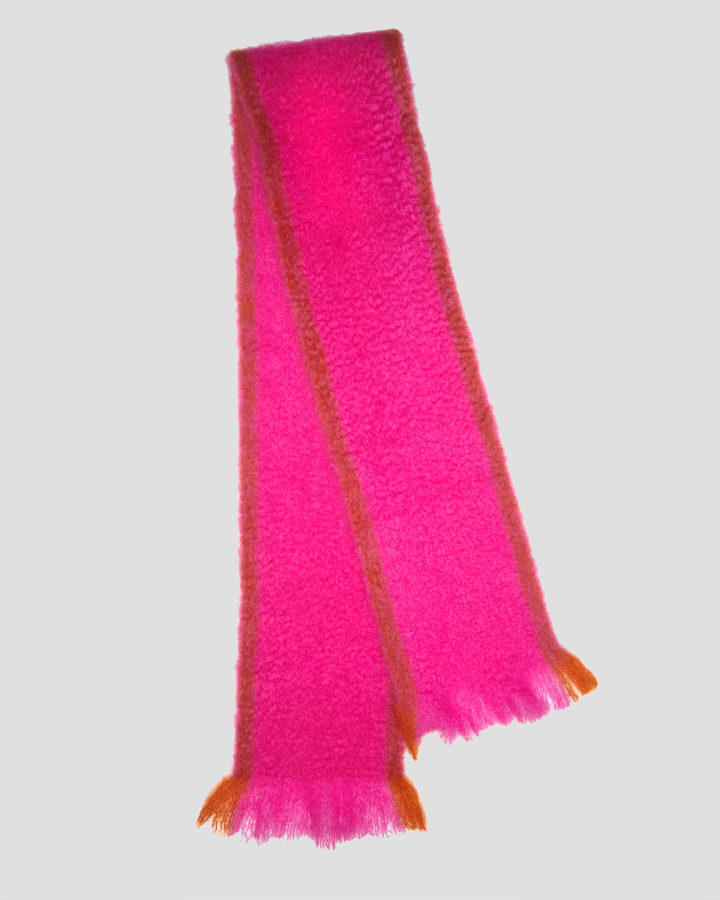 TOKYO FUCSIA SCARF by LOVAT&GREEN