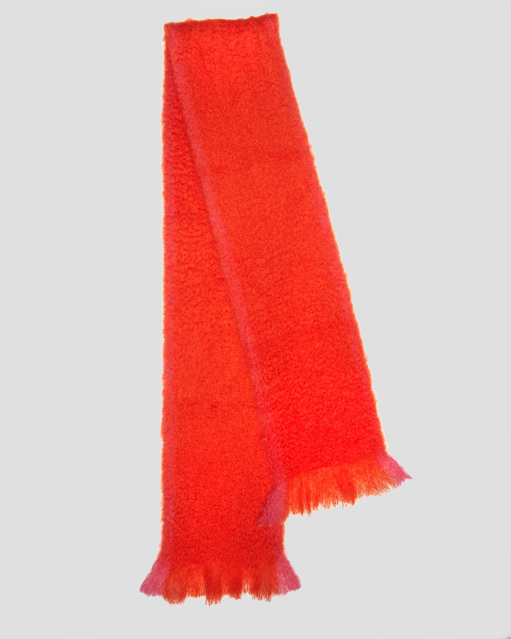 TOKYO RED SCARF by LOVAT&GREEN